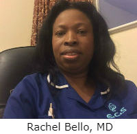 rachel bello, MD